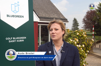 Interview de Aude Bredel - Directrice du golf Bluegreen de Saint-Aubin